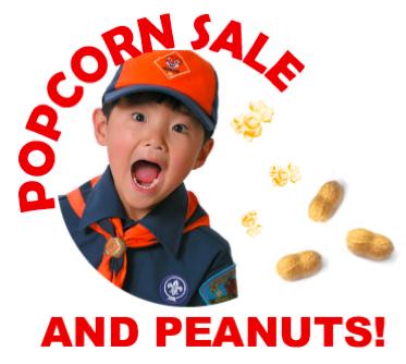 It's Popcorn & Peanut Time!