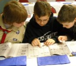 Coin Collecting Merit Badge Class, May 6