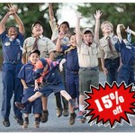 Save 15% on a New Scout Uniform