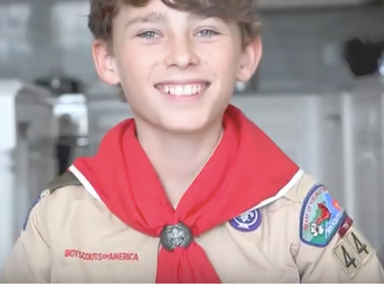 Local Scout Gives Back to His Community Through Popcorn!